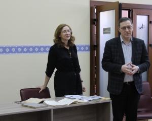 """Состоялась встреча с главным редактором журнала """"Маладосць"""""""